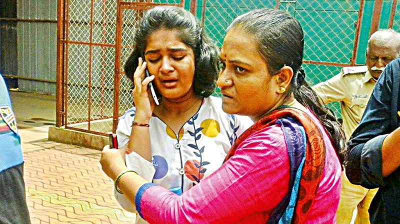 Social media helps parents find missing daughter, Puujitha in Hubballi