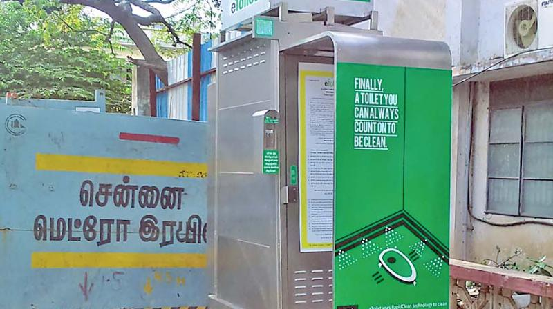 Chennai Mayor Saidai Duraisamy on Monday  launched an Android app that has mapped 183 e-toilet units in the city.