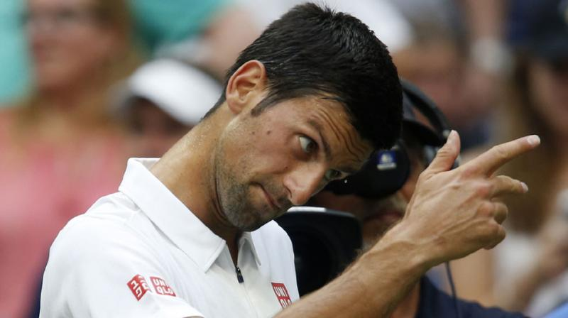 Novak Djokovic, 29, who came to New York with questions about his fitness and form after a first-round exit from the Rio Olympics and concerns over an injured left wrist, has sailed into the semifinals in record time due to a bizarre path. (Photo: AP)