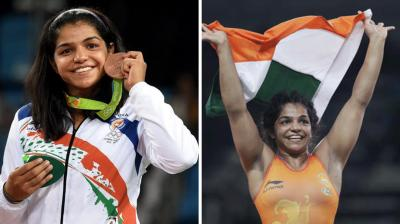 After ending India's agonising wait for an Olympic medal at the Rio Games with a bronze medal, Indian women wrestler Sakshi Malik said it was the result of her 12 years of persistent hard work. (Photo: AP)
