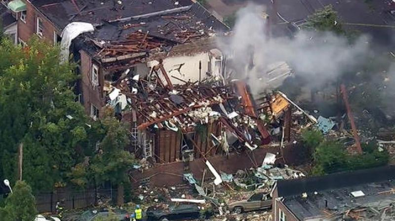 NYC home explodes after report of gas leak, drug lab find