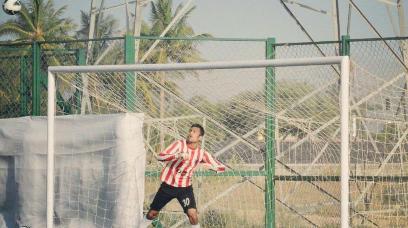 Youngster Pranav Kotra is from the prestigious Hindustan FC in New Delhi. (Photo: DC)