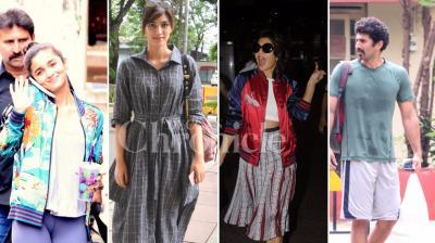 Alia Bhatt, Kriti Sanon, Jacqueline Fernandez and Aditya Roy Kapur.