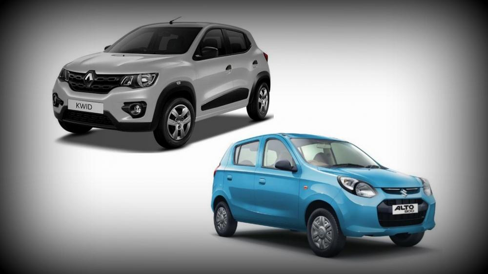 The low-budget car segment is pretty hot and presently, Kwid, the new entrant from Renault is heavily contending against the well-known veteran Maruti's Alto. The main elements that differentiate the two cars are fuel efficiency, comfort, design and a few more areas. Check out a detailed comparison between the two low-budget family hatchbacks, which are almost identically priced.