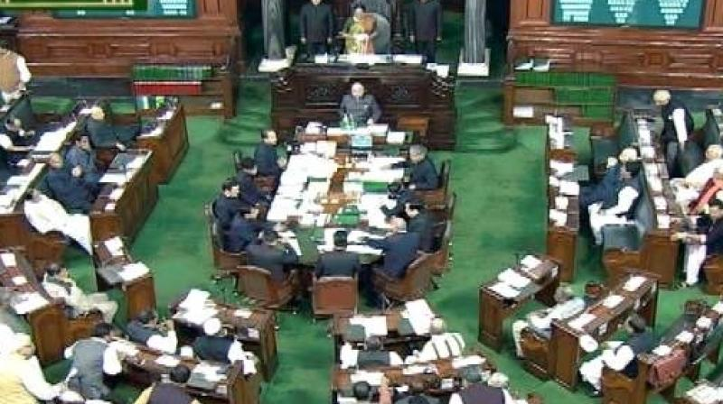 Man tries to jump off Lok Sabha gallery over ...