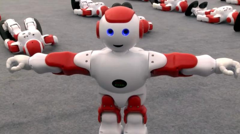 Watch These Adorable Dancing Robots Break a Guinness World Record