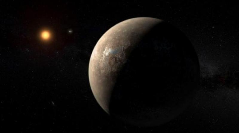 Scientists searching for life on nearby 'super-Earth'
