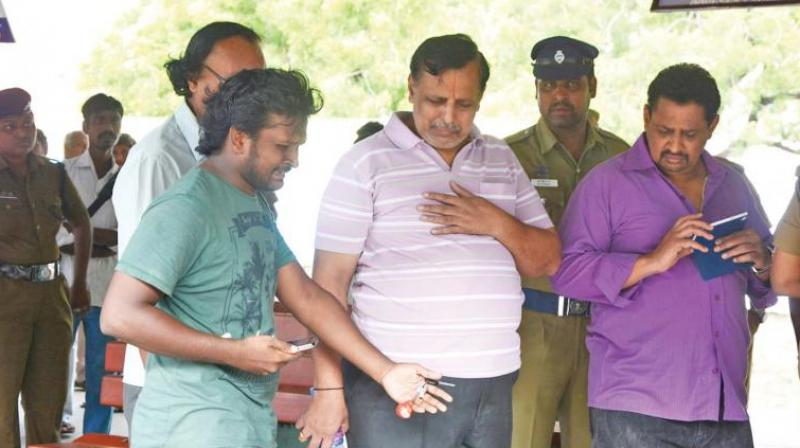 nation crime hyderabad techie puts held
