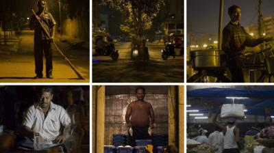 Many of the services that people living in big cities in India take for granted are due to the men who have to toil at odd hours. Nilay Singh, a college student and musician, decided to create a photo series to acknowledge the hard work of these 'invisible' men. (Photo: Instagram/ @atom_singh)