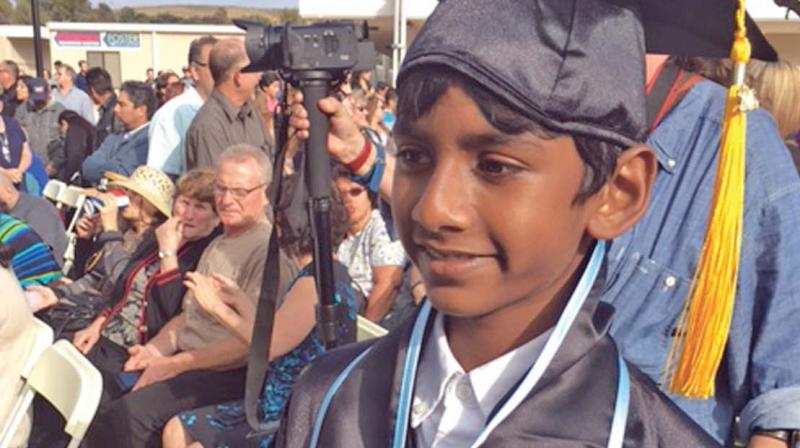 Pranav has earned two associate degrees with honors from Moorpark College, thus becoming the youngest graduate in the college.