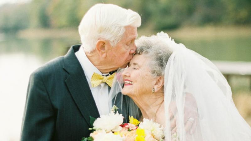 In this day and age of hook-ups and dating apps, long-lasting relationships seem rare and too good to believe. So, it was no surprise when Shalyn Nelson decided to honour her grandparents' 63rd wedding anniversary by offering to recreate their wedding photos. (Photo: Instagram/@shalynnelson)