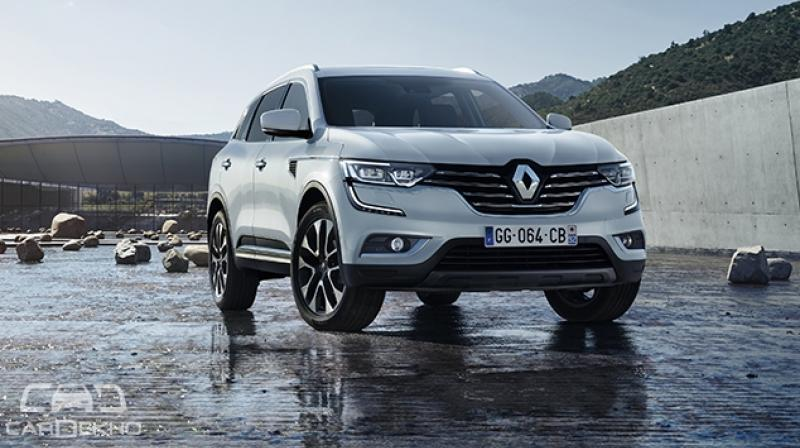 The Renault Koleos Is An In Your Face Suv