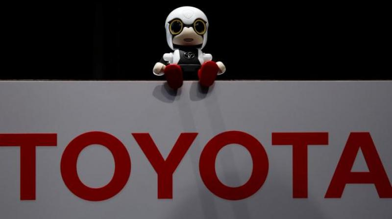 Toyota Motor Corp's Kirobo Mini robot is pictured during a photo opportunity after a news conference in Tokyo, Japan, September 27, 2016. REUTERS/Kim Kyung-Hoon