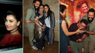 Ritiesh Deshmukh attended media interactions to promote his film 'Banjo' and later held a screening for his family. There was another screening held for the Bollywood celebrities. (Photo: Viral Bhayani)