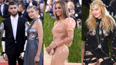 The Met Gala red carpet gleamed on Monday with sparkly metallics and shiny, futuristic-looking fabrics as stars paid homage to this year's technology-centered theme. Photo: AP