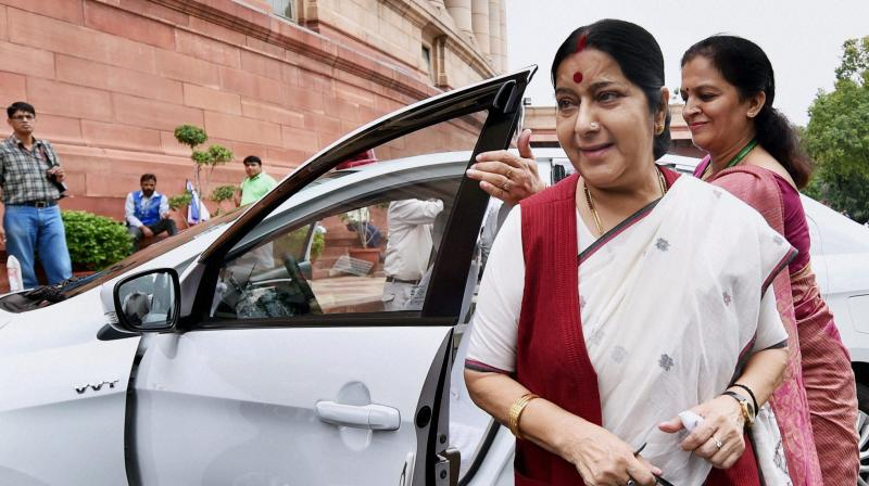 Parliament of India misses you, ma'am! Come back soon.