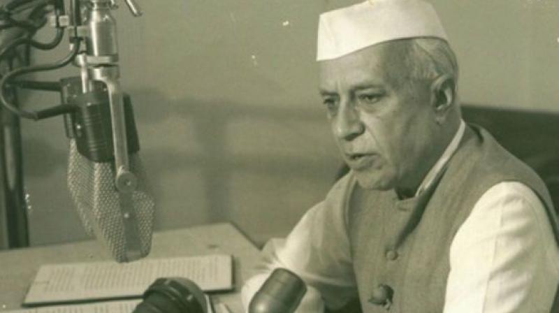 File photo of India's first Prime Minister Jawaharlal Nehru