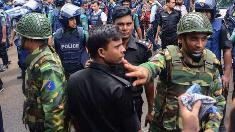 Bangladeshi Police Say Two Dhaka Terror Attack Suspects Detained