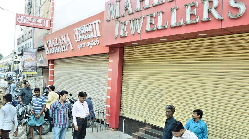 Jewellers see red as govt proposes 1% excise duty