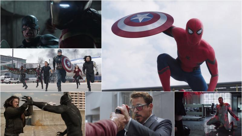 'Captain America: Civil War' trailer features Spider-man