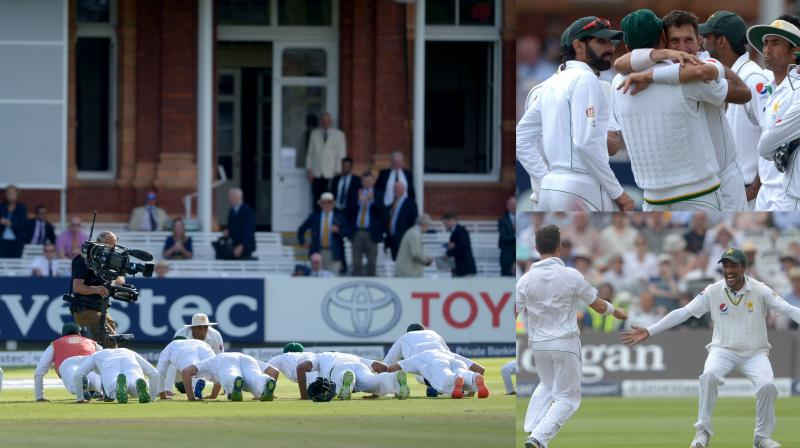 Pakistan beat England by 75 runs in the first Test at Lord's on Sunday. (Photos: AP)