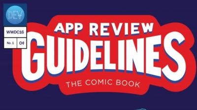 Apple re-designs app store review guidelines section in to comic book