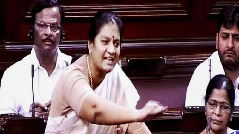 Sacked AIADMK MP, hubby,son booked on sexual harassment charge