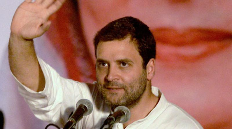 Congress leaders, particularly Rahul Gandhi, have made the GST and demonetisation as key issues of their campaign. (Photo: PTI/File)