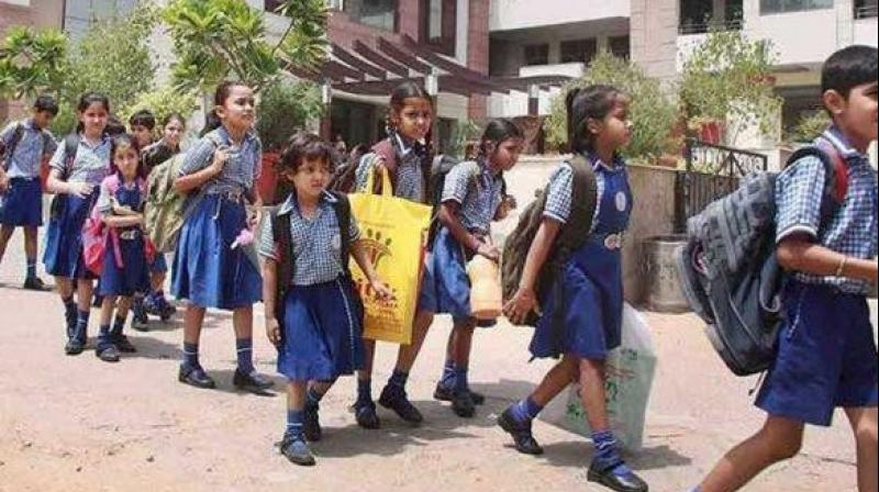 The association has been demanding limiting admission fees in all schools to Rs 5,000, making transfer of students from one school to another easier along the lines of mobile number portability and refunding admission fees collected in excess of Rs 5,000 since August 2010, when HC had ruled in favour of collecting only Rs 5,000 as admission fees. (Photo: PTI)