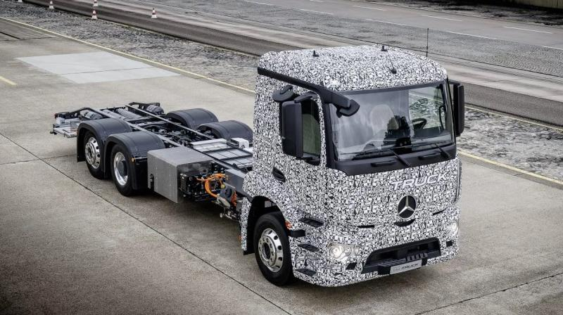 Daimler Trucks along with Mercedes-Benz is offering the first fully electric Urban eTruck.