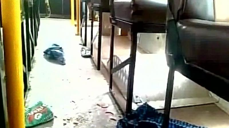 Explosion in a private bus injures 15 in Haryana