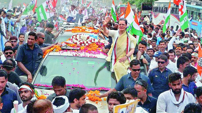 Ailing Sonia Gandhi back in Delhi, taken to Army's RR Hospital