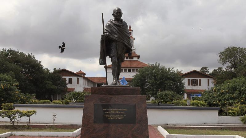 Mahatma Gandhi statue (Photo: AP)