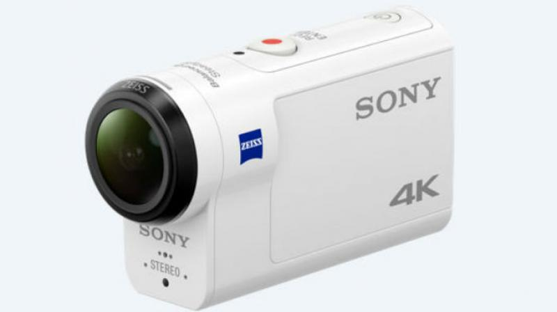 Sony Adds Optical Image Stabilization Action Cam to Lineup