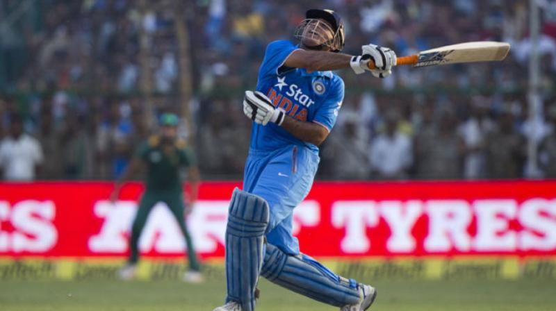 MS Dhoni is known as the finisher in international cricket but there have been occasions when Captain Cool remained quiet, courtesy smart bowling. (Photo: AP)