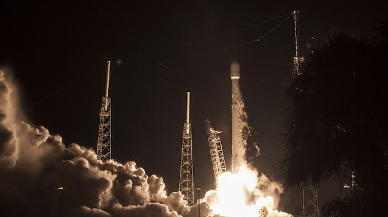 SpaceX sending satellite into space early Sunday