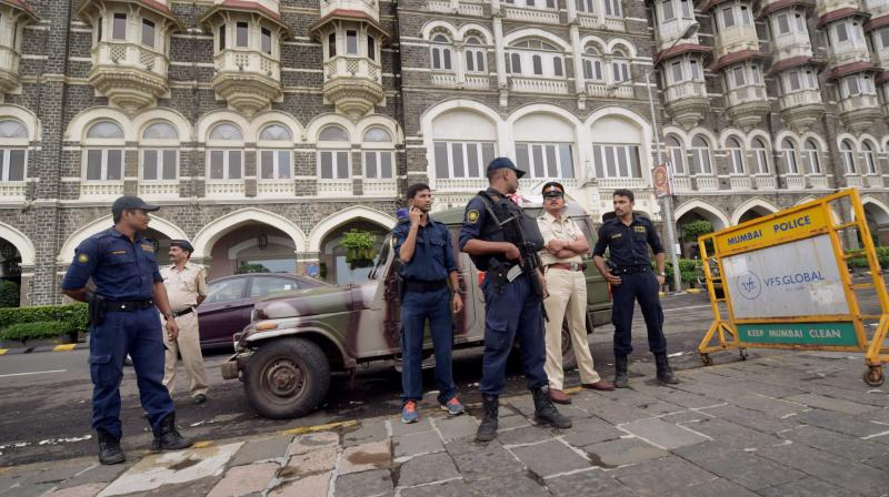 A high alert was sounded along the Mumbai coast and adjoining areas on Thursday after a group of men were spotted moving suspiciously near a naval base at Uran in Raigad district, leading to multi-agency search operations by multiple agencies.