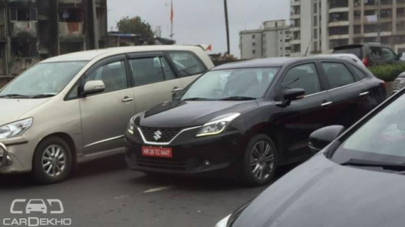 new car launches before diwaliMaruti Suzuki Baleno RS spotted before launch