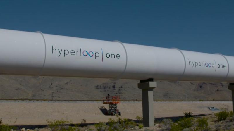 Watch hyperloop one holds first public test of high speed