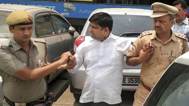 AAP MLA Dinesh Mohaniya