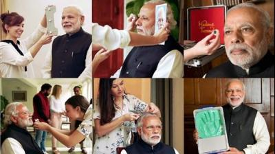 Toeing the lines of important global leaders, the Indian Prime Minister Narendra Modi will soon be immortalized in the most sought after wax museum Madame Tussauds in London, Singapore, Hong Kong and Bangkok. (Photo: PTI)