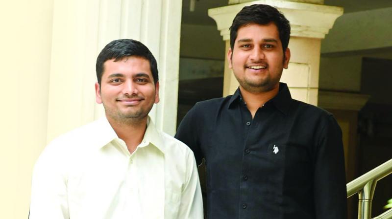 Krishna Teja and Sriram Varma