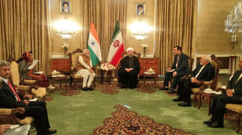 India on Monday signed the historic Chabahar port pact with Iran. According to the pact, India will provide USD 500 million for the development of Chabahar. Modi arrived in Tehran on Sunday night for a 2- day visit.
