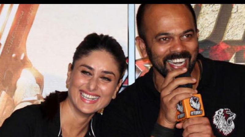 Rohit Shetty directed Kareena Kapoor Khan in 'Golmaal Returns', 'Golmaal 3' and 'Singham Returns'.