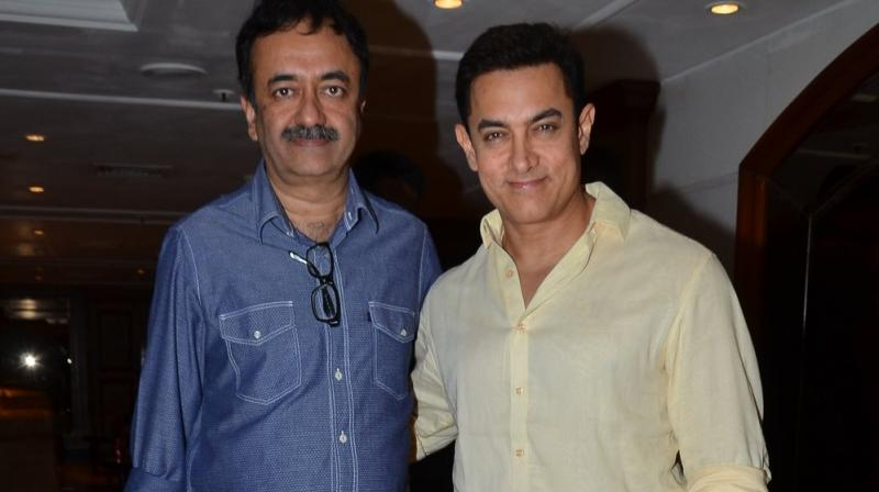 Hirani with Aamir Khan