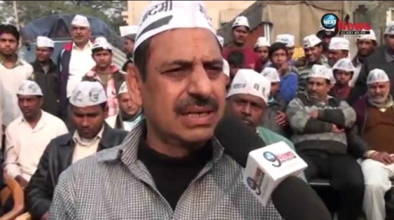 AAP MLA Sahi Ram Pahalwan booked for 'assaulting' youth