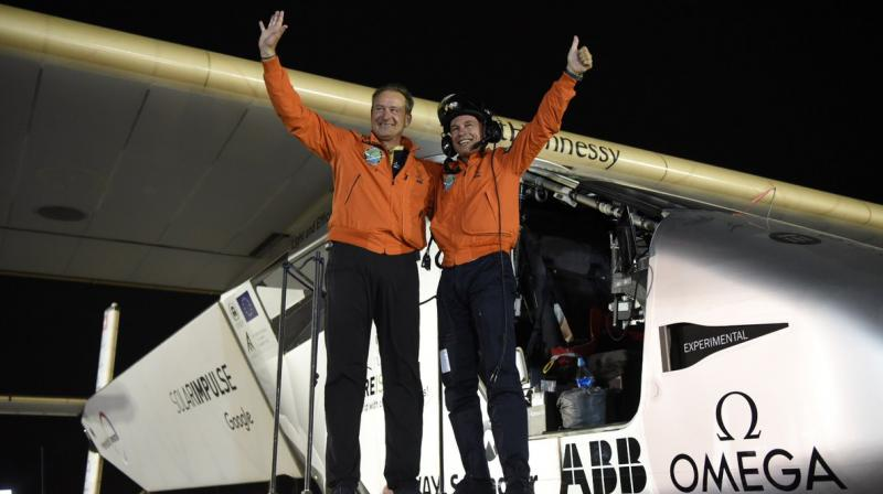 The adventure began with Bertrand Piccard's vision that clean technologies and energy efficiency can reduce our emissions and improve our quality of life. It led up to the attempt of the First Round-The-World Solar Flights, with in July 2015 André Borschberg's 5-day 5-night record-breaking flight from Japan to Hawaii, using only the power of the sun. Bertrand Piccard and André Borschberg, have set out to achieve something that still seems impossible: the First Round-The-World Solar Flight, powered only by the sun, with no fuel or polluting emissions.