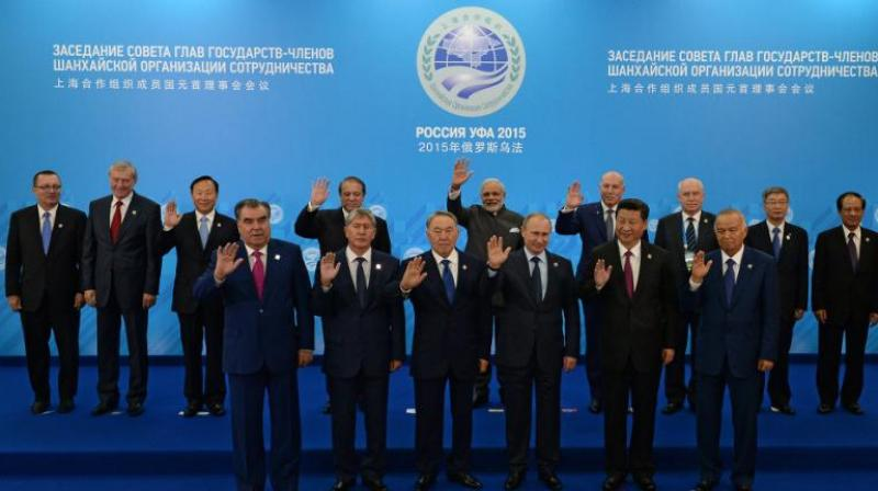 China supports India and Pakistan's accession to the SCO, and hopes that the entry of new members will contribute to the development of the SCO and regional prosperity and stability, says Chinese Foreign Ministry. (Photo: AP)