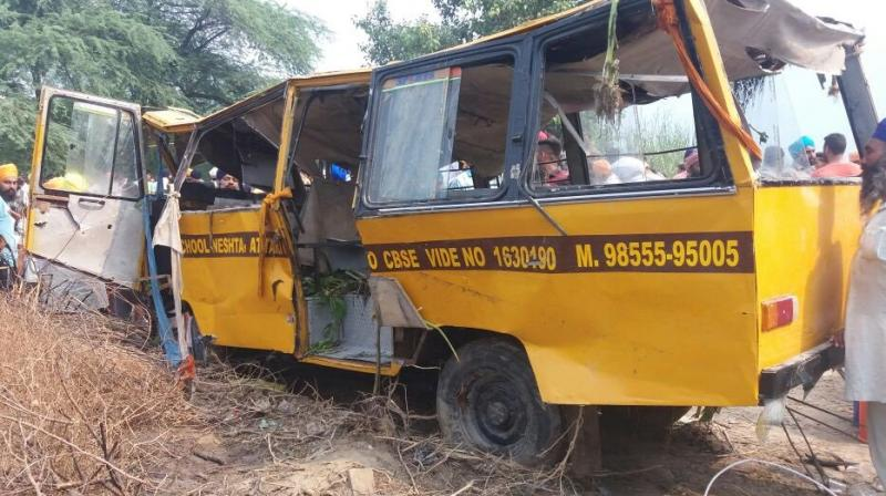 Punjab: 6 students dead after school bus falls into a canal