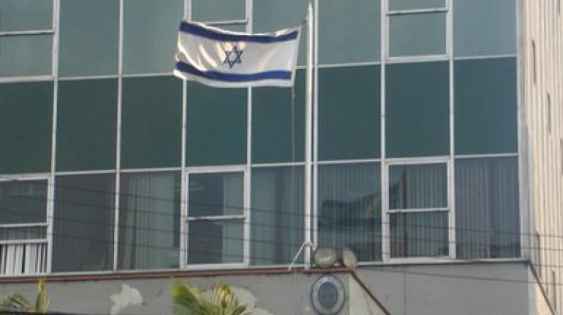 Man with knife arrested outside Israel's Ankara embassy